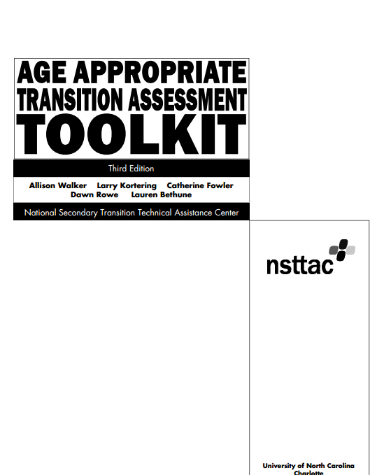 Age Appropriate Transition Assessment Toolkit
