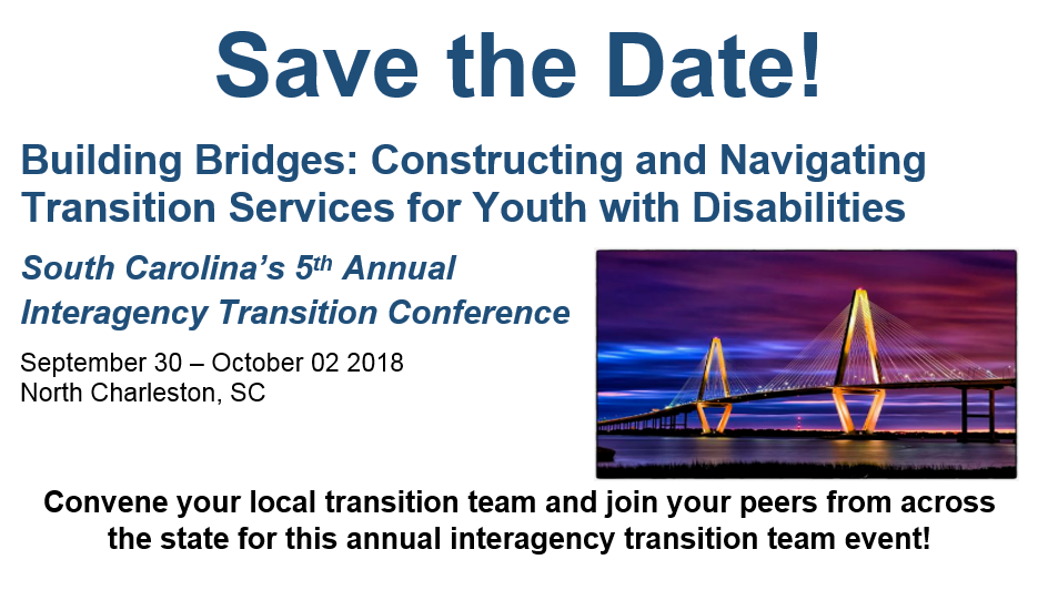 2018 Transition Conference Flyer