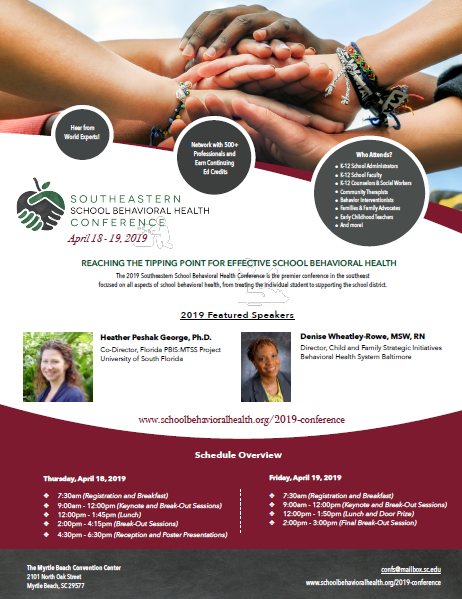 Southeastern School Behavioral Health Conference - Transition