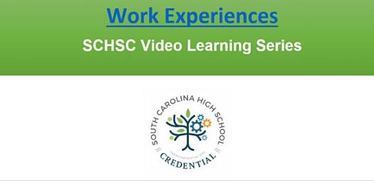 Work Experiences Webinar flyer
